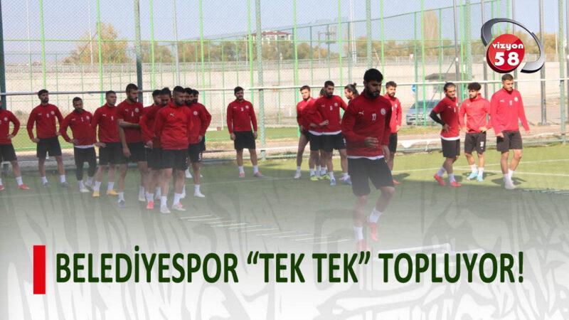 """BELEDİYESPOR """"TEK TEK"""" TOPLUYOR!"""