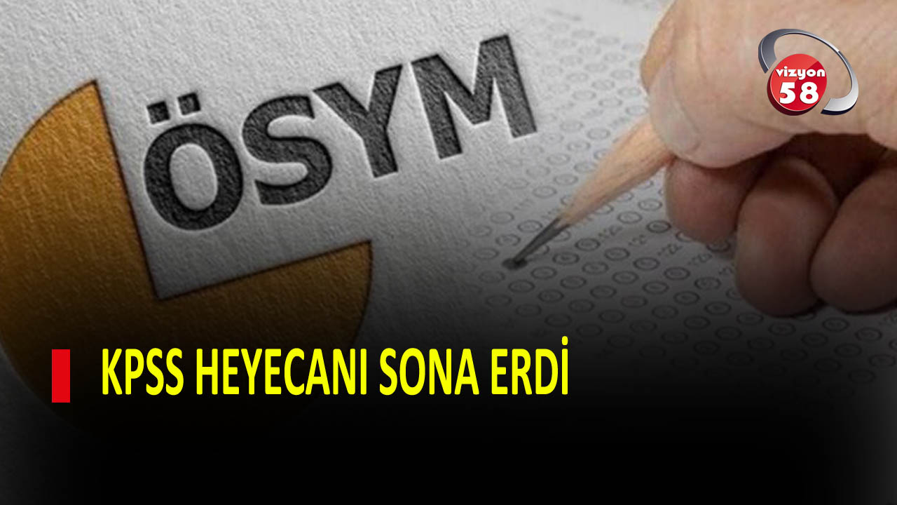 KPSS HEYECANI SONA ERDİ
