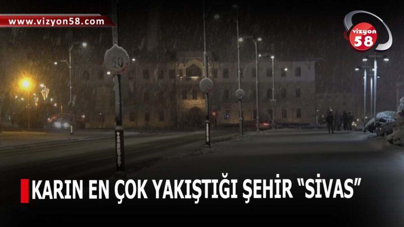"""KARIN EN ÇOK YAKIŞTIĞI ŞEHİR """"SİVAS"""""""