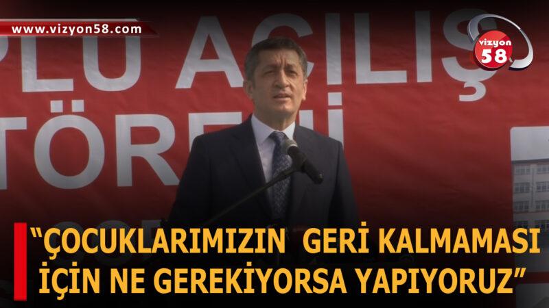 """""""ÇOCUKLARIMIZIN  GERİ KALMAMASI  İÇİN NE GEREKİYORSA YAPIYORUZ"""""""