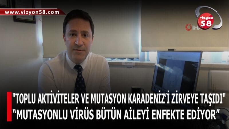 """""""TOPLU AKTİVİTELER VE MUTASYON KARADENİZ'İ ZİRVEYE TAŞIDI"""""""