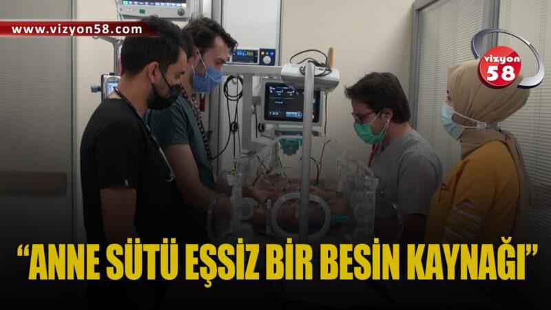 """""""ANNE SÜTÜ EŞSİZ BİR BESİN KAYNAĞI"""""""